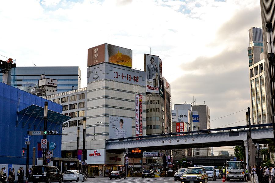 東京駅〜銀座07