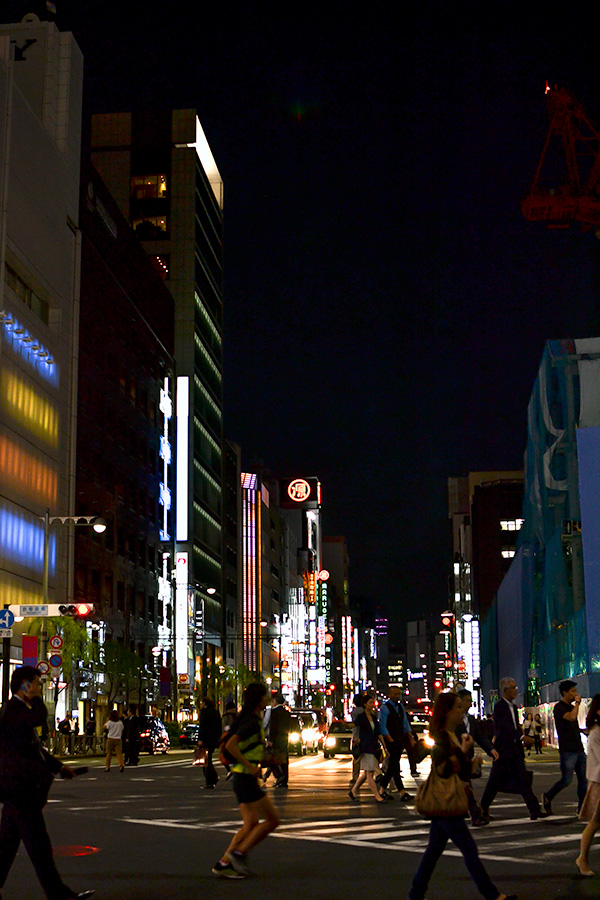 東京駅〜銀座20