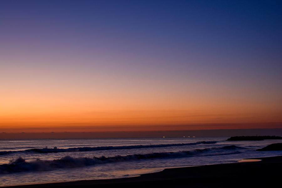 一宮海岸の日の出06