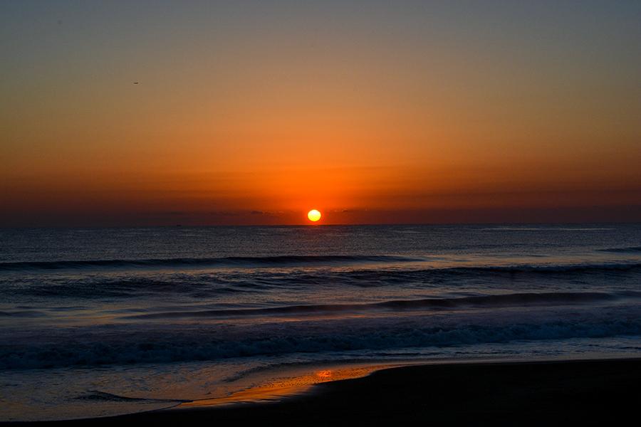一宮海岸の日の出17