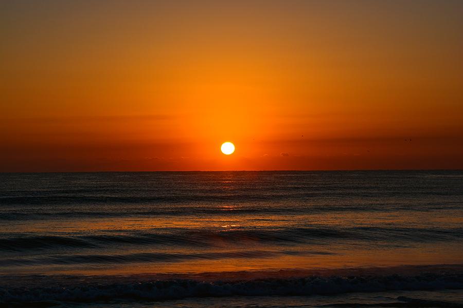 一宮海岸の日の出19