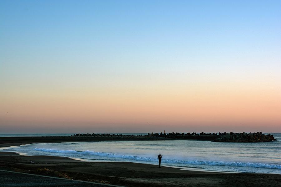一宮海岸の日の出23