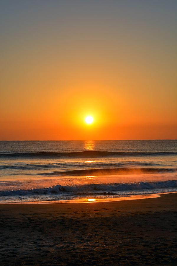 一宮海岸の日の出24