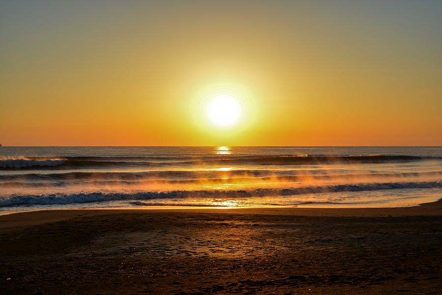 一宮海岸の日の出30