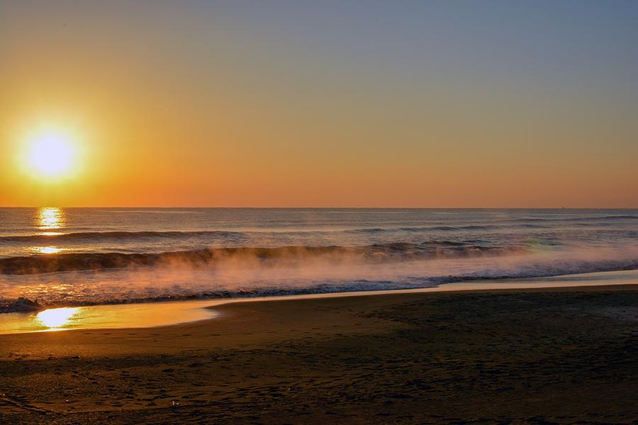 一宮海岸の日の出32